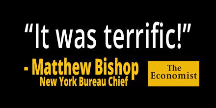 Matthew Bishop Quote